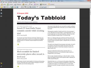 Tabbloid